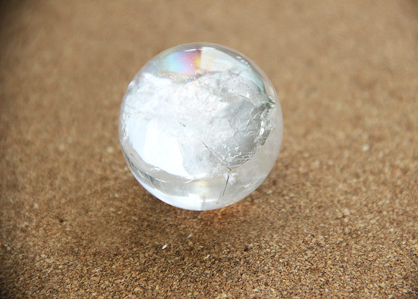 16164bdd0 Round Clear Quartz Crystal Ball - All About You Centre
