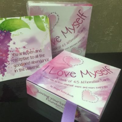 All About You centre, Online store, I Love Myself Affirmation Cards, Hong Kong