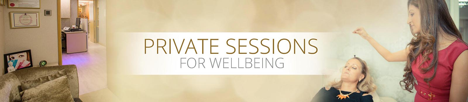 Private Sessions for Wellbeing